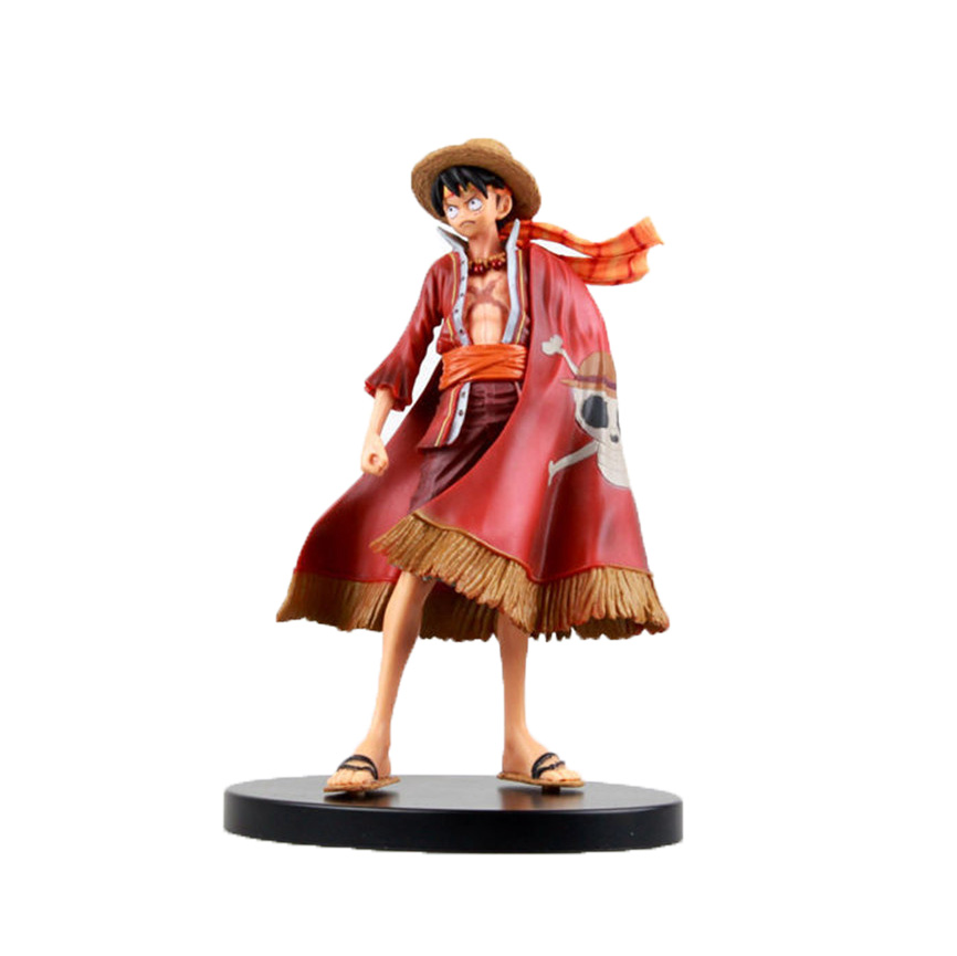 Chanycore Anime ONE PIECE Scultures DXF New World Luffy Red Ver 17cm Action Figures PVC onepiece toys doll model collection