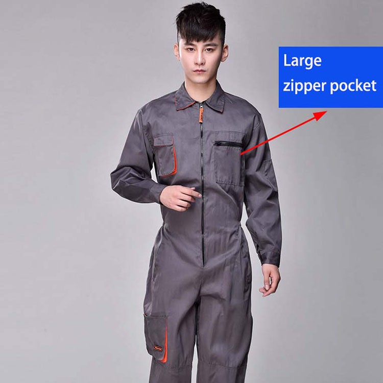 Work overalls men women protective coverall repairman strap jumpsuits trousers working uniforms Plus Size sleeveless coveralls (3)