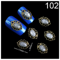 Beautome 10Pcs/lot Retro 3D Opal Nail Art Rhinestones For Nails Tools Rhinestone Decoration Beauty Nail Jewelry 11*8mm