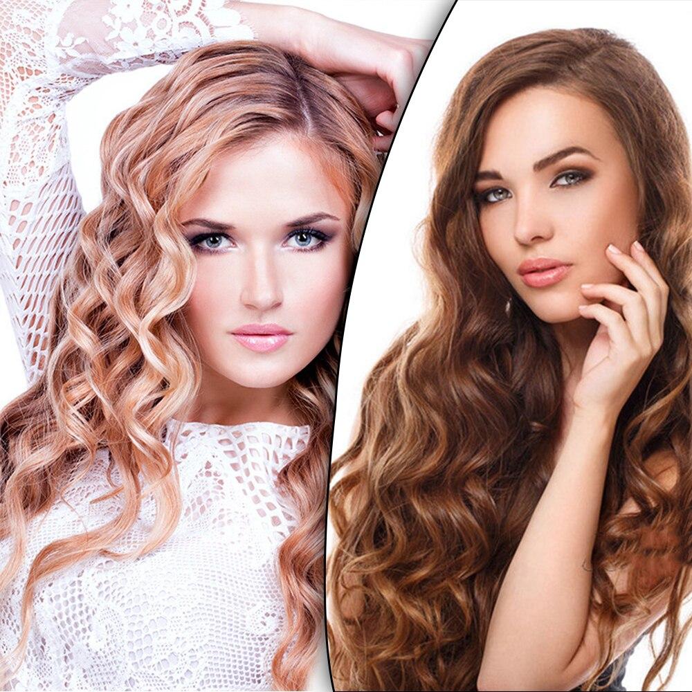30 Pcs Per Bag 25cm/30cm/45cm/50cm/60cm Magic Long Hair Curlers Spiral Ringlets Leverage Curlers Hair Curler Hairdressing Tool(China)