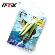 3 pcs Winter Fishing Lure Ice Fishing Jig Bait 52mm-65mm 5.0g 9.0g Carp Fishing hooks Lead Hard Lure fishing accessories Carp