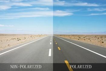 Black Polarized Replacement Lenses for Probation Sunglasses Frame 100% UVA & UVB  Anti-scratch