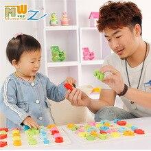 Children s toys digital alphabet puzzle children early childhood education puzzle toys wholesale blocks hand plate
