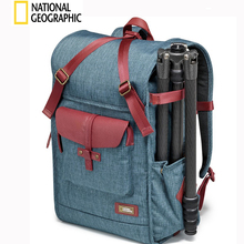 NATIONAL GEOGRAPHIC NG AU5350 DSLR Camera Backpack Laptop Bag with Rain cover Outdoor Travel photo Bag