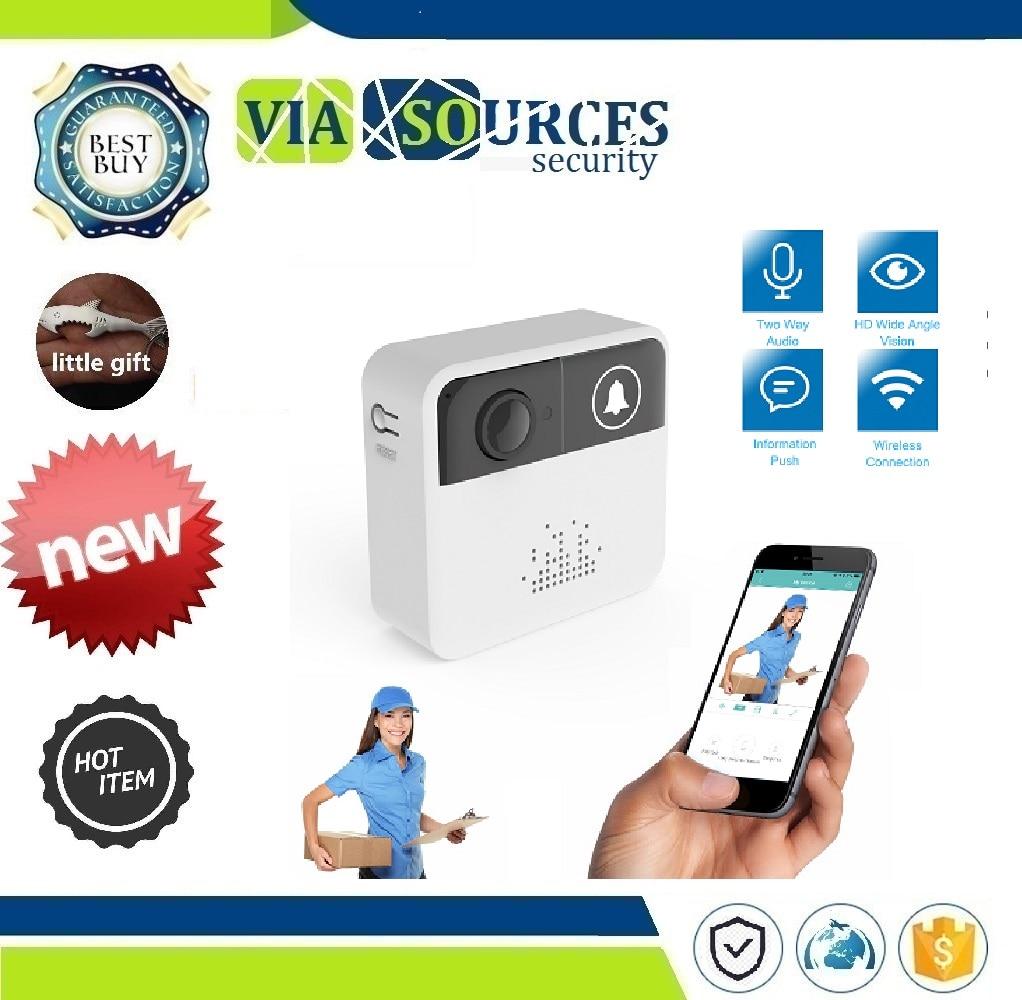 Two Way Audio Intercom IP Door Bell Home Security APP Control And 720P HD Wireless WIFI Doorbell Battery Door CameraTwo Way Audio Intercom IP Door Bell Home Security APP Control And 720P HD Wireless WIFI Doorbell Battery Door Camera