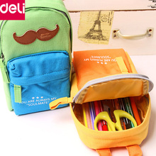 Deli 1pcs School Bag Pencil Bag Cute Pencil Case Rewarding Gifts for Kids Children Office School Supplies
