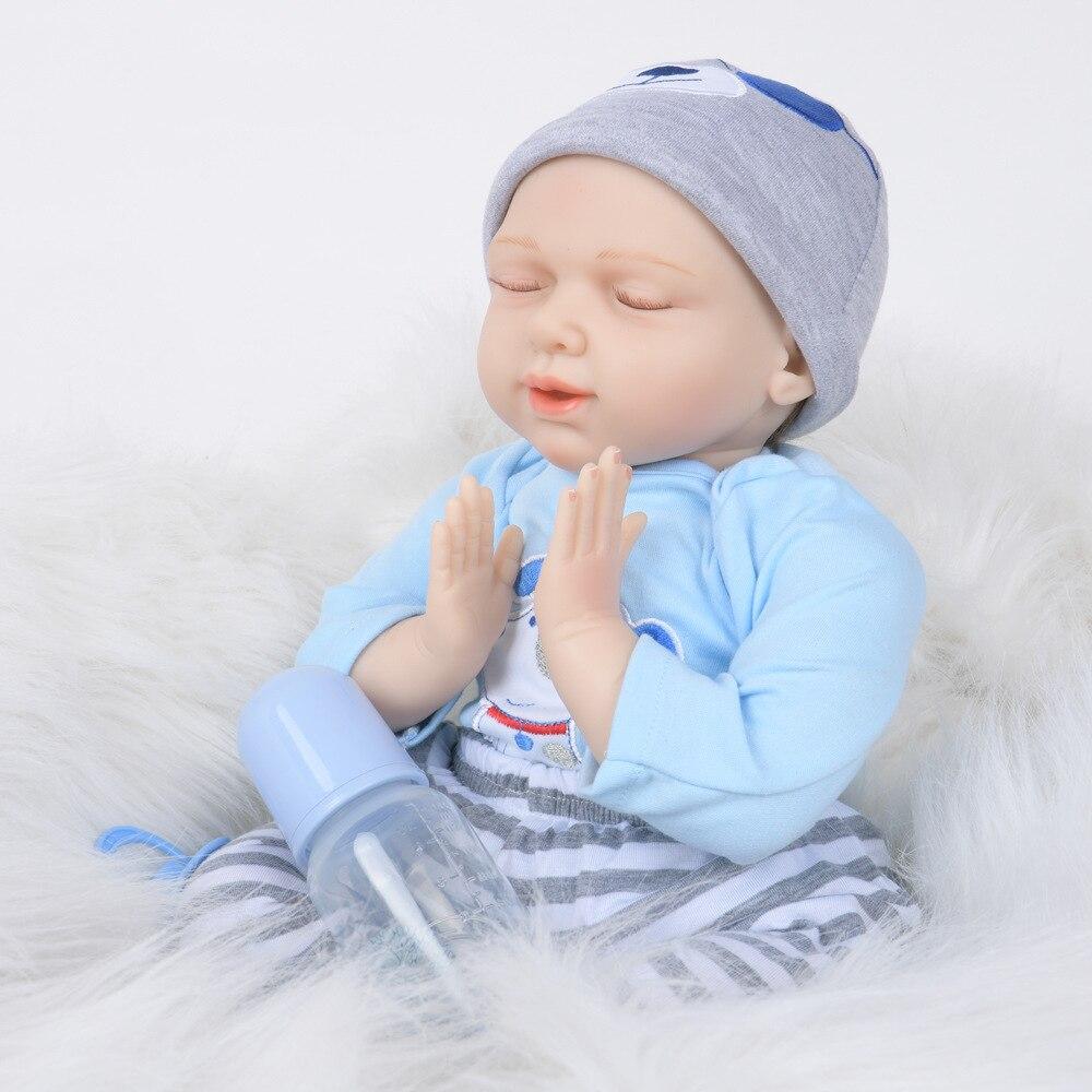 Nouveauté poupée bébé Reborn poupée bébé ange gros son sommeil Reborn bébé Kit enfants coucher Brinquedos