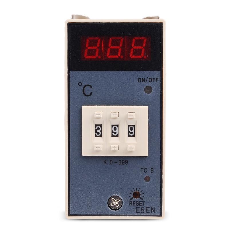 Függőleges BE / KI Digitális hőmérsékletszabályozó E5EN - Mérőműszerek - Fénykép 2