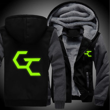 H0009 New Winter Jackets and Coats Guilty Crown hoodie Anime Hooded Thick Zipper Men Sweatshirts
