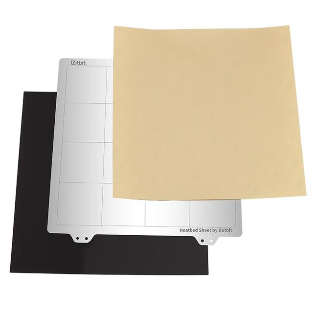 Горячая кровать платформа стальная пластина магнитная наклейка B СТОРОНА PEI для Creality Ender 3 Ender 3 Pro 3D принтеры