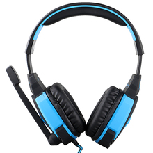 Kotion EACH G4000 USB Stereo Gaming Headphone Headset Headband with Microphone Quantity Management LED Gentle for PC Recreation Pc