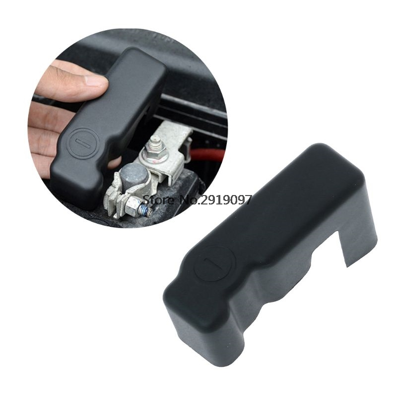 2019 New ABS Car Battery Anode Protection Cover For <font><b>Toyota</b></font> Land Cruiser Prado FJ <font><b>150</b></font> Accessories 2010-2017 Year image