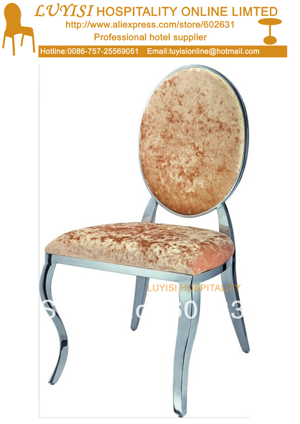 Stainless steel Hotel chair LYS-D1,srong and comfortable,fast delivery блуза d lys d lys mp002xw1aue5