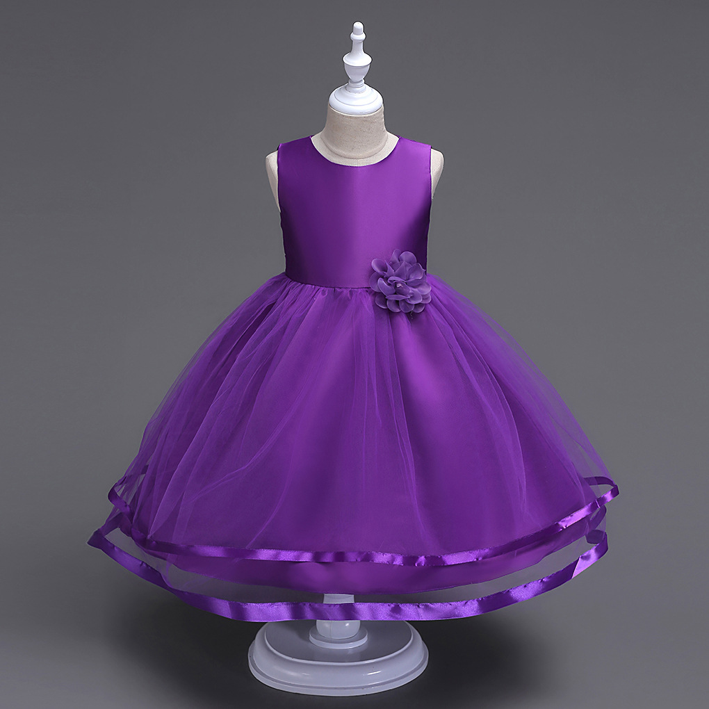 Princess children bridesmaid weddings gowns kid party pageant princess children bridesmaid weddings gowns kid party pageant dresses for little girls glitz purple flower girl long dress in dresses from mother kids on ombrellifo Images