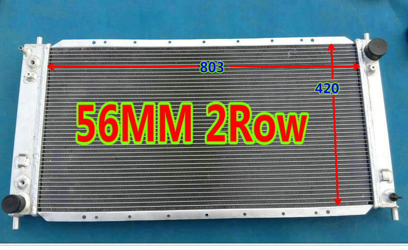 Aluminum Radiator For 1997-1998 Ford F-150 F-250 Ford Expedition 4.2L 4.6L V8