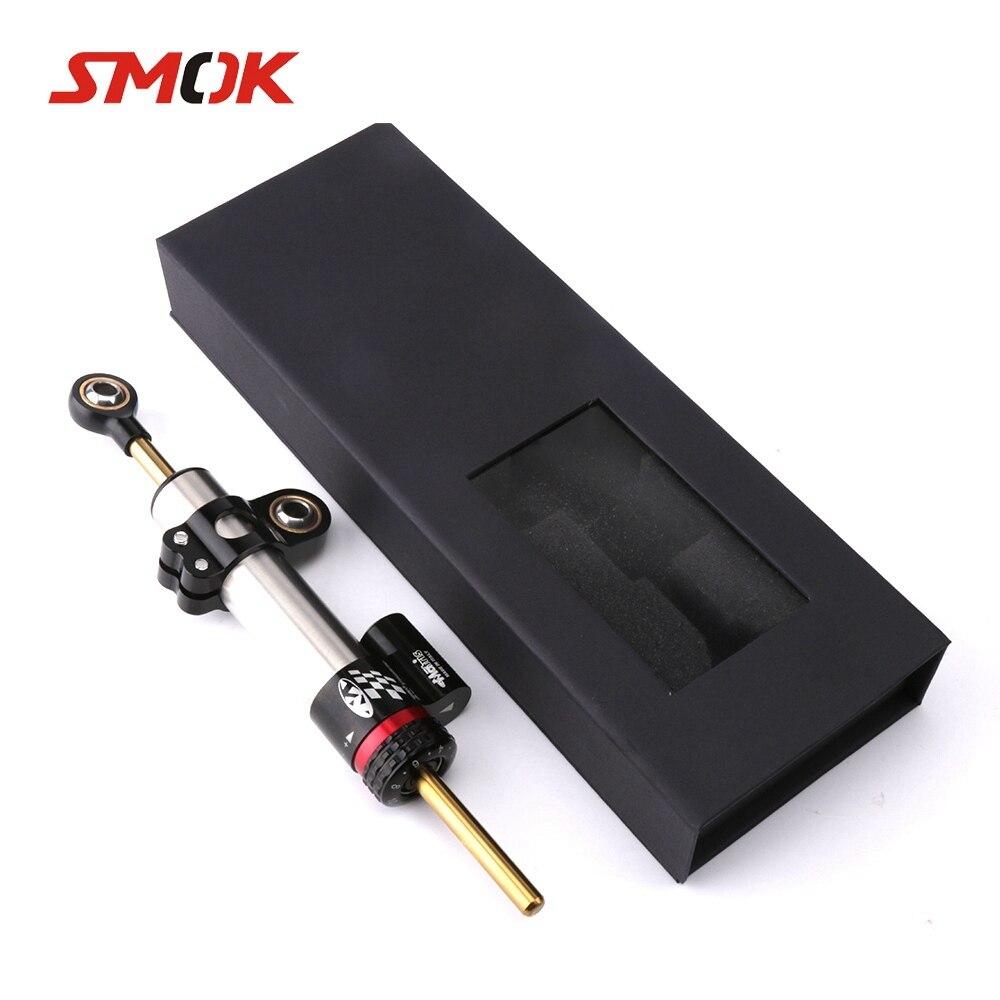 SMOK Universal Motorcycle Adjustable Steering Damper Stabilizer For Yamaha MT10 MT 10 MT-10 MT 07 MT-07 MT07 MT09 MT 09 MT-09