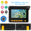 "KKmoon 1200TVL Underwater Fish Finder Kit 4.3"" LCD Monitor Waterproof Night View Camera 20M Cable For Ice/Sea/River Fishing"