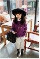 [Bosudhsou.] yyy-36 Autumn/Winter Toddler Kids Girls Sweater Long Sleeve Crochet Thicken Knitted Kid Children Clothing Pullover