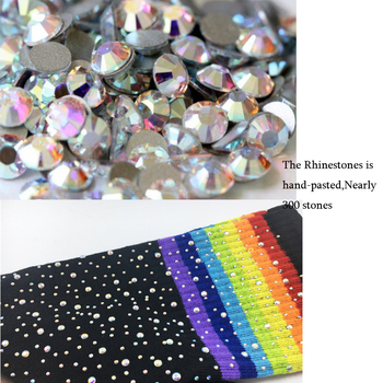 Rhinestones Glitter Hipster Over Knee Socks34