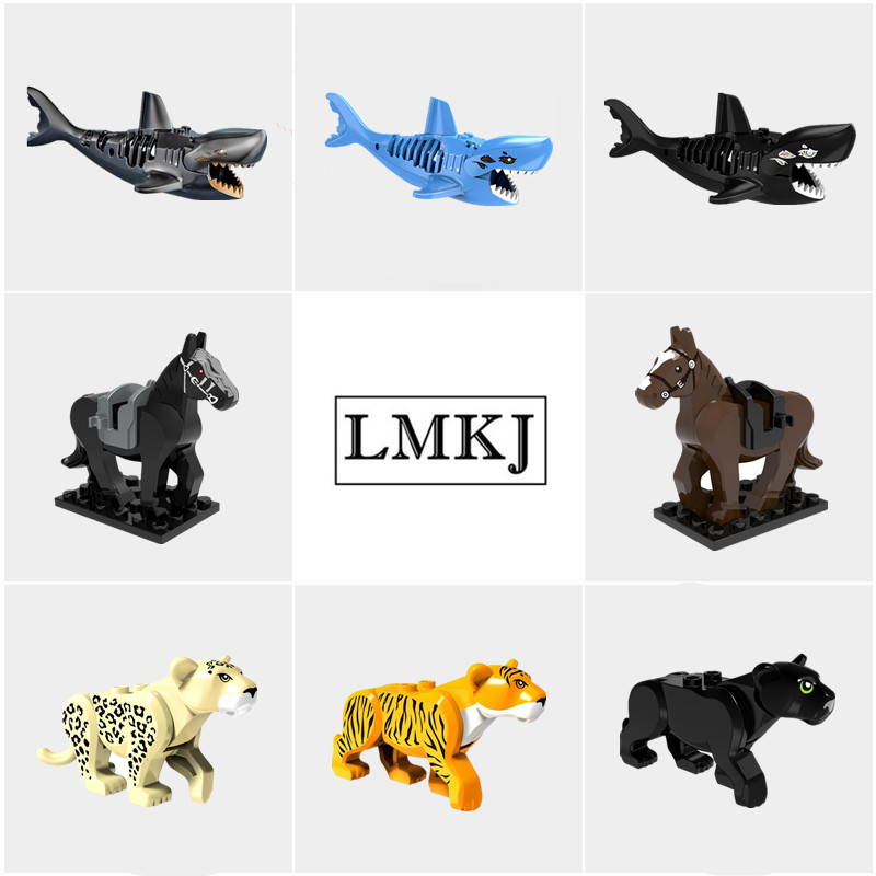 Compatible With Legoingly Small Bricks Animal Diy Figures font b Model b font font b Building