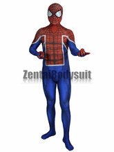 Spider UK Costume Lycra Spandex Spider-UK Bodysuits Fullbody Suit Zentai Halloween Party