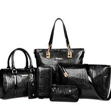 6pcs Women Bag Set Luxury Handbags Designer Crossbody