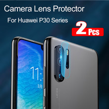 2Pcs P20 Lite Glas Voor Huawei P30 Pro Glas Gehard Camera Lens Screen Protector op Huawei P Smart 2019 smart + Plus Z P10 Film(China)