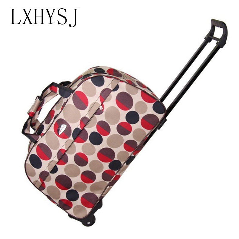 Fashion Waterproof Women Travel Bags Men Trolley Luggage Bag Travel Bag With Wheels Travel Accessories