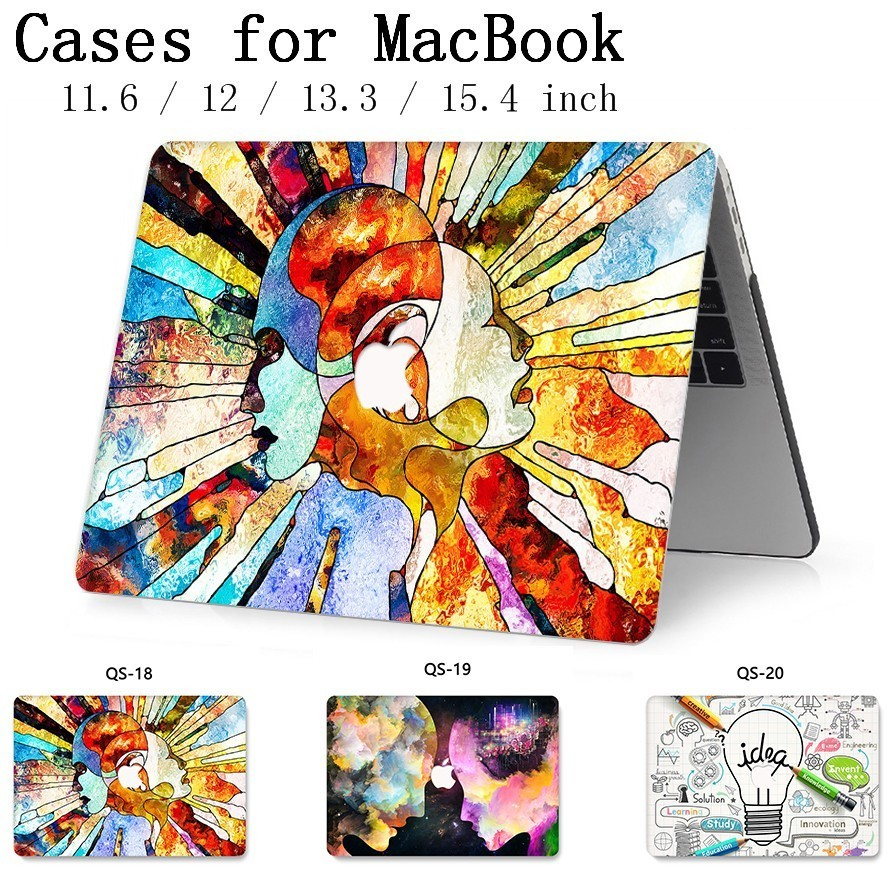 Fasion For New Notebook MacBook Laptop Case Sleeve Cover For MacBook Air Pro Retina 11 12 13 15 13.3 15.4 Inch Tablet Bags Torba-in Laptop Bags & Cases from Computer & Office