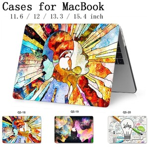 Image 1 - Fasion For New Notebook MacBook Laptop Case Sleeve Cover For MacBook Air Pro Retina 11 12 13 15 13.3 15.4 Inch Tablet Bags Torba
