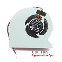 New Cpu Fan For XMG P505 P506 P507 Pro Gaming Laptop Cpu Cooling Fan