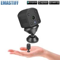 Vídeo sem fio câmera de segurança em casa mini 720 p hd wifi ip câmera de visão noturna alarme monitor do bebê filmadora gravador vídeo loop Câmeras de vigilância     -