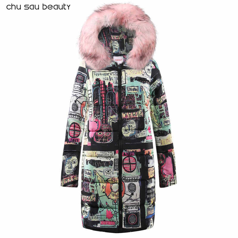 2019 Winter Jacket New Fashion Women Down jacket Slim Large size Hooded Jacket Students Women Thick Warm Cotton Outwear CY1625