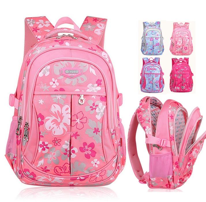 Korean New Fashion Child Primary School Backpack Girls Waterproof