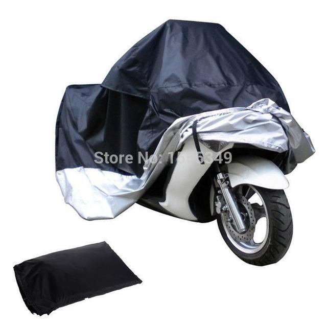 Cobertura para motos rua da bicicleta de scooter à prova d' água capa de chuva de poeira protetor para a honda yamaha yzf r1 r6 ducati ktm bmw