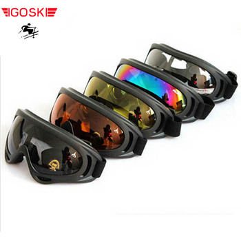 ski man women goggles skiing cycling eyewear sci glass eye protection snowboard alpine motocycle double board equiment windproof