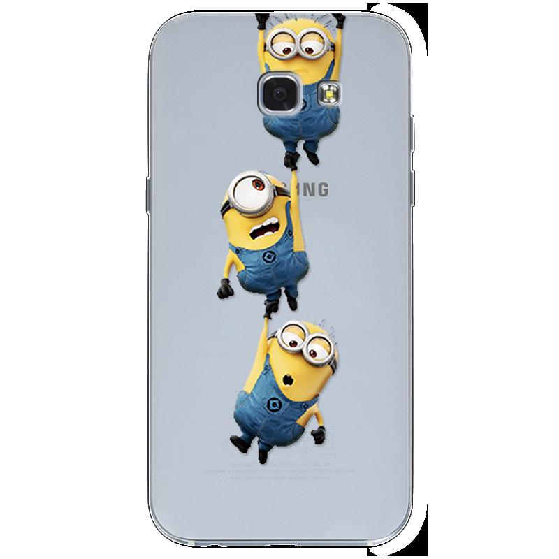 Cartoon Minions Cases For Samsung Galaxy A5 2017 Case A520 Fundas ...