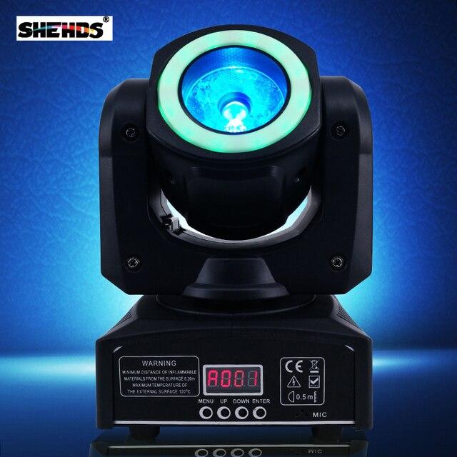 Миниатюрсветодиодный светодиодные сценические прожекторы с движущейся головкой мощностью 40 Вт, сценические лампы, RGBW и смешанные DMX для профессионального диджея KTV, дискотеки, бара, ночного клуба