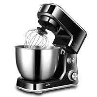 JamieLin 6 speed Kitchen Food Stand Mixer Electric Cream Egg Whisk Blender 4L Cake Dough Bread Mixers Maker Machine