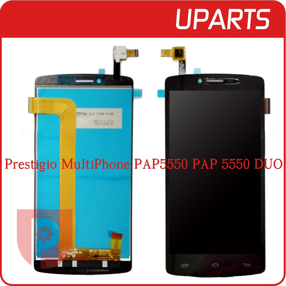 High Quality 5 5 For Prestigio MultiPhone PAP5550 PAP 5550 DUO Full Lcd Display Touch Screen