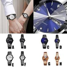 Wedding Couple Watches for Lovers Steel Waterproof Gifts Cou