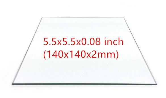 UP taier Afinia BOROSILICATE GLASS PLATFORM for DIY 3D printer 3 pack FOR AFINIA AND UP