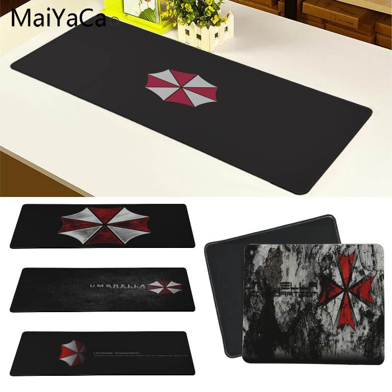 MaiYaCa Umbrella Corporation Large Mouse pad PC Computer mat Size for 30x90cm and 40x90cm Gaming Mousepads