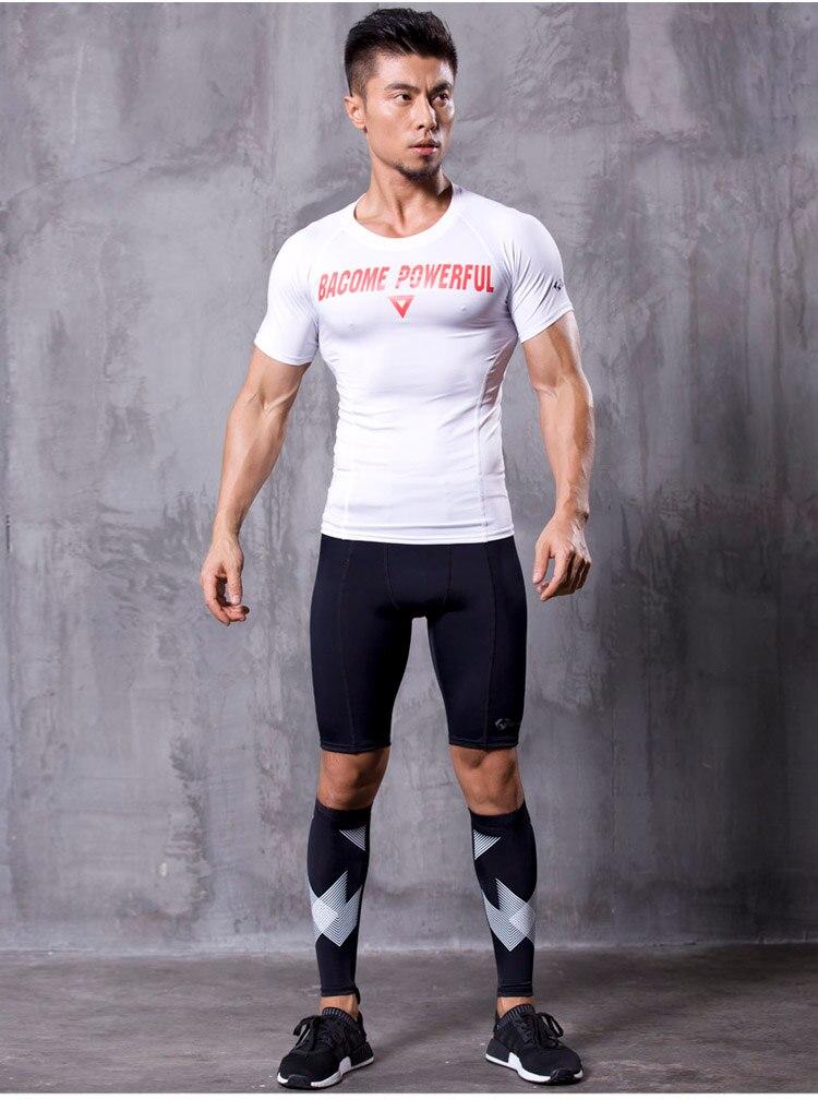 új Non-Stirrup kompressziós tréning lábbeli ujjú borjú - Sportruházat és sportolási kiegészítők - Fénykép 2