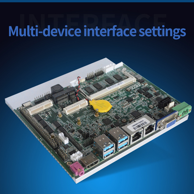 Mainboard intel 6th 7th Gen i7 מעבד משולב intel Skylake Kabylake i7 7500U מעבד 4Gb ram תעשייתי האם