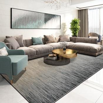 大北欧敷物とリビングルームの豪華現代のフロアマット敷物寝室ヨーロッパペルシャ幾何カーペットリビング -