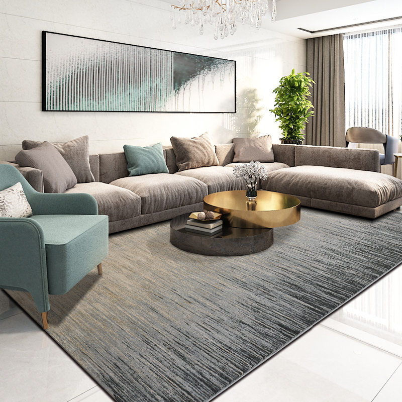 Large Nordic Rugs And Carpets For Living Room Luxury Modern Floor Mat Rug Bedroom European Persian Geometric Carpet Livingroom