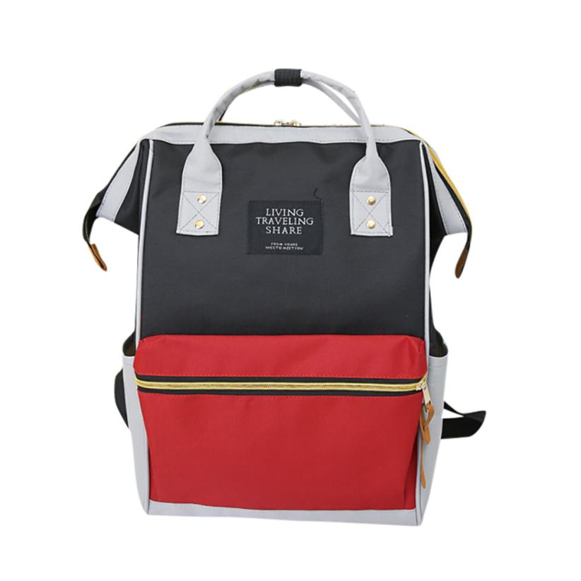 Xiniu School Backpack For Teenage Girls And Boys Solid Color Fashion Leisure Back To School Bags #**