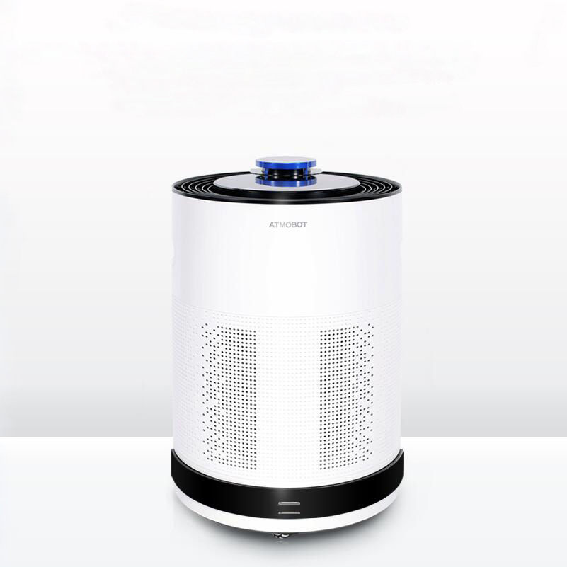 Mobile Air Purifier Robot Remotely Control Filter Purification Sterilization Formaldehyde Dust PM2.5 Cruise Move