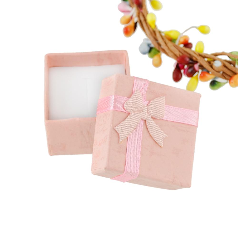 Newindy Fashion Square Bowknot Pattern Colorful Paper Box Elegent ...